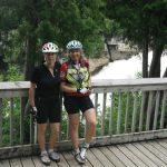 Donna, Liz at Inglis Falls