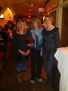 2013 Beryl Burton Award recipient Liz Overduin with Kathy Brouse (L) and Vaune Davis (R).